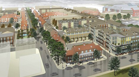 Proposed Iberville Development illustration